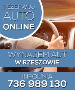 Wynajem aut w Rzeszowie